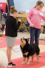 Tholie og Emma i Barn og hund - de vandt BIS!
