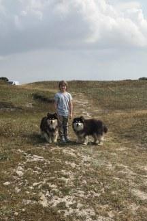 Ilolas(til højre) er farfar til Xuperi Foto: Sarah Brandes